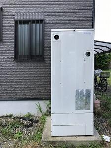 草津市K様邸電気温水器