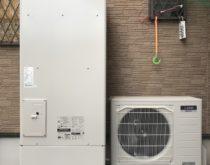 電気温水器からエコキュートに交換、ハイパワー給湯でシャワーの圧力も改善!