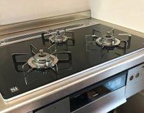 上質で美しいビルトインコンロ「プログレ」と高効率給湯器エコジョーズ設置しました