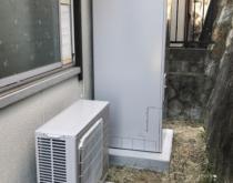 東芝電気温水器を三菱エコキュートへ交換