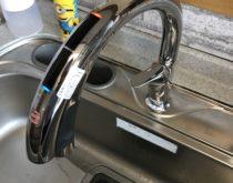 LIXILのキッチン用タッチレス水栓ハンズフリーナビッシュに交換しました