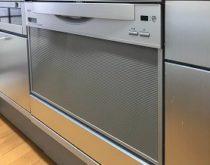 60㎝幅ビルトイン食器洗い乾燥機を交換しました