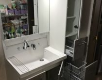 草津市にてLIXILピアラ洗面台を設置しました!