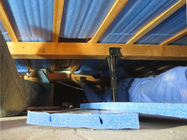 床下専用断熱パネル