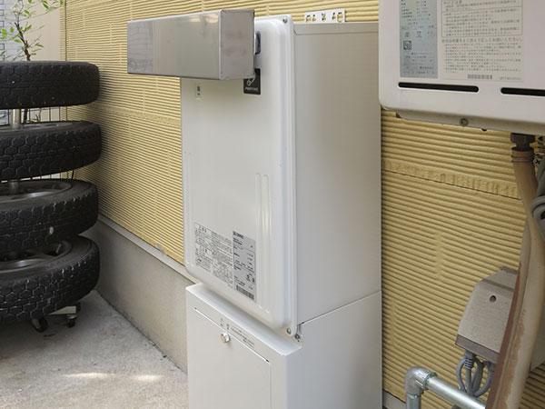 ガス暖房熱源機
