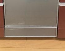 省エネのエコナビ食洗機を設置しました(パナソニックM8大容量のディープタイプ)