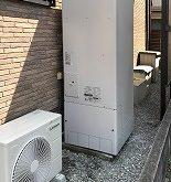 水漏れをしていた電気温水器からエコキュートに交換