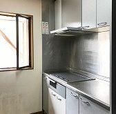 新しいIHとレンジフードでキッチンを明るく新しい空間に!ガスコンロからIHへの交換です。