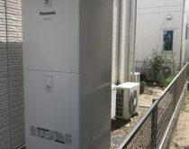 電気温水器からエコキュートに交換させていただきました