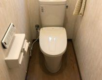 ナショナル・シャワレインCH4632HSからリクシル・アメージュZ+New PASSOへ、草津市トイレ交換事例