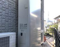 守山市にて、ダイキン薄型タイプ(Xシリーズ)エコキュートを設置しました。