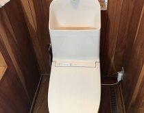 20年お使いのトイレから驚きの節水に!!TOTO一体型トイレZR1🚽に交換しました