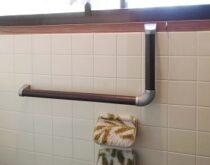 草津市にてトイレ・浴室に手すりをお取付けしました!