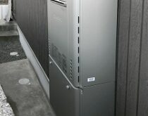 大津市にてガス給湯器交換 ノーリツ GT-2428SAWX → GT-C2462SAWX BL