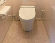 守山市、和式トイレからタンクレスの洋式トイレに改修しました(LIXILサティスS)