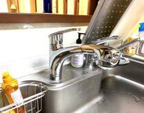 シングルレバー混合水栓とビルトイン食器洗い乾燥機をまとめてお得に交換