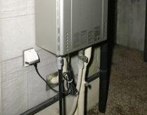 草津市にてガス給湯器交換 ノーリツ GT-2428SAWX → GT-C2462SAWX BL エコ給湯器エコジョーズ‼