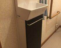 LIXIL コフレル手洗い器に交換しました