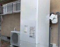 大津市にてガスからオール電化工事(エコキュート・IHクッキングヒーター)の事例ご紹介