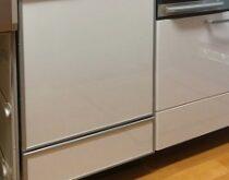 パナソニック食器洗い乾燥機 NP-P45V1PSAA(ミドル) ⇒ NP-45MD8S(深型)に交換しました。