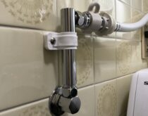 洗濯用水栓をPanasonicの壁ピタ水栓に交換しました