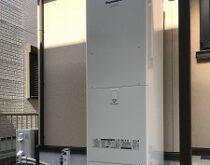 13年使用されたエコキュート。草津市にて新しく交換しました。