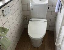 一体型トイレからウォシュレットとの組み合わせが自由なタンク式トイレへ(アメージュZ+KAシリーズ)🚽