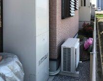 守山市にて、電気温水器からエコキュートへの交換で光熱費もおトクに!