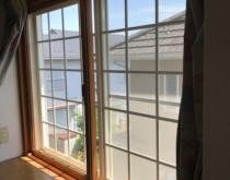 防音、エアコンの効きもばっちりの内窓を設置しました。