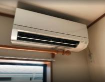 2階寝室のエアコンを交換しました