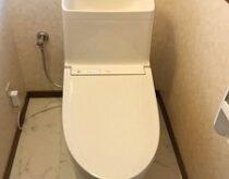 草津市、水栓水漏れ修理とトイレ交換に伺いました🚾