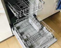 ミドルサイズのビルトイン食器洗い乾燥機をリンナイのフロントオープンタイプへ交換