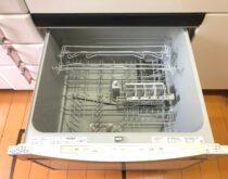 故障してしまったワイド60㎝サイズのビルトイン食器洗い乾燥機の交換工事