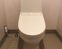 旧ナショナルのシャワートイレをTOTOウォシュレットに交換