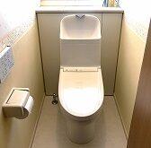 1・2階のトイレ、まとめて交換、18年前のトイレから節水トイレ(TOTO ZJ1)へ