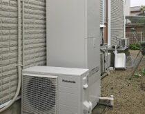 大津市、ナショナル電気温水器からエコキュートへの交換事例