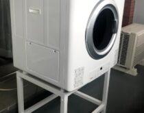 大人気のガス衣類乾燥機(乾太くん)をベランダに設置させていただきました