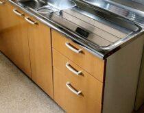 草津市で台所流し台交換、長年使った流し台を新しく・使いやすく🌟