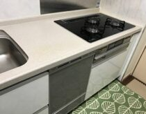 栗東駅前マンション、新しいコンロと食洗機で快適なキッチンに!