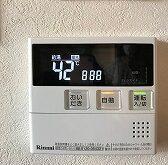 草津駅前マンションにて熱源機付きガス給湯器交換
