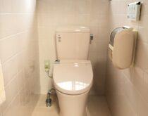 長年使用されたトイレの交換をしました
