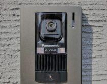 調子が悪くなってきたテレビドアホンを録画機能付きのテレビドアホンに交換しました