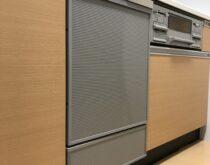 大津市の分譲マンションで故障していたビルトイン食器洗い乾燥機を交換