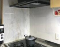 草津市にて、ビルトインコンロ・レンジフード・浴室水栓をまとめて交換しました