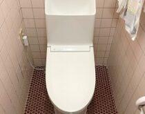水漏れしていたトイレ(TOTO C830T&CF841)をウォシュレット一体型トイレZR1に交換