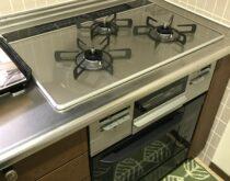 ビルトインコンロコンロとオーブンをセットで交換しました。