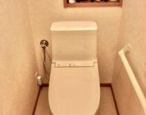 大津市でTOTOのZJ1へのトイレ交換工事