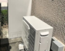 守山市にて、電気温水器からエコキュートへの交換。光熱費がだいぶんお得になります☆
