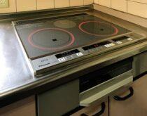キッチンの暑さ対策にガスコンロからIHクッキングヒーターに交換